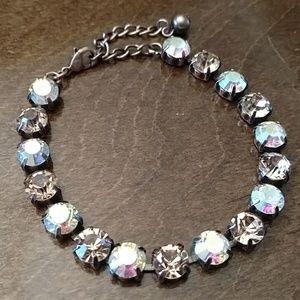 Handset Rhinestone bracelet